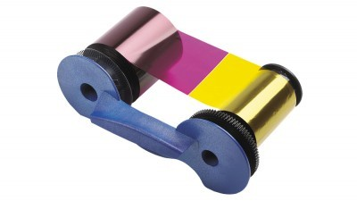 Datacard 534000-009 YMCKK Full Color Dual-Sided Ribbon