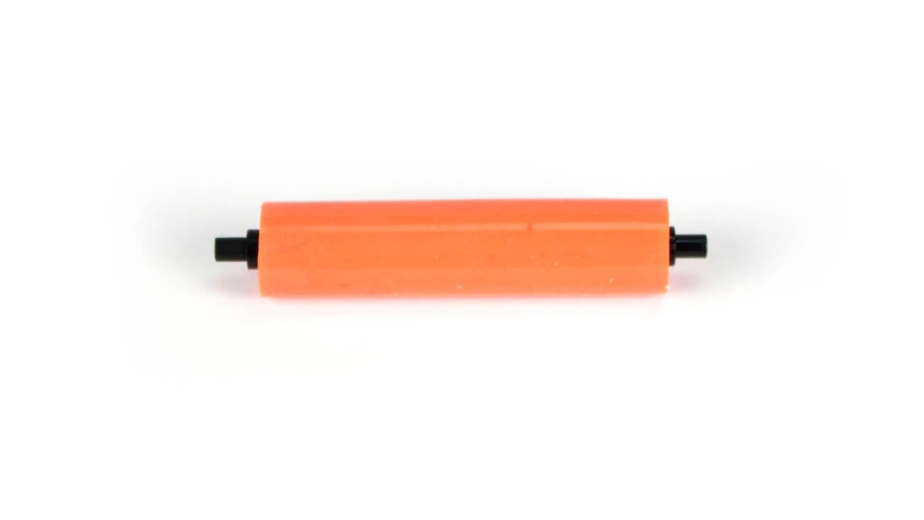 AlphaCard Cleaning Roller Spindle (Orange Roller) for PRO 100, PRO 500 Printers