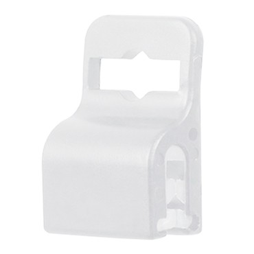 Standard Gripper for Slot Free Cards - White -100