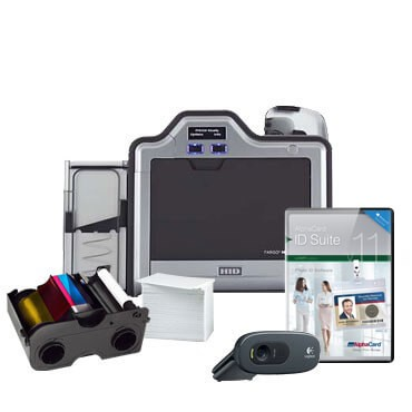 Fargo HDP5000 Single-sided ID Card System