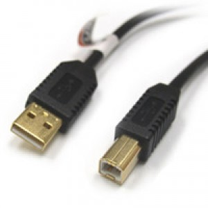 Standard USB Cable A->B - 6 foot