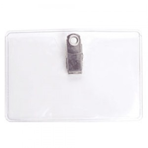 Standard Clip-On ID Holder - Landscape - Cr-80 AQ