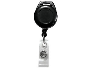 Badge Reel w/Vinyl Strap-25 pack