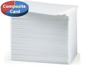Blank Composite Plastic Cards - 100 pack