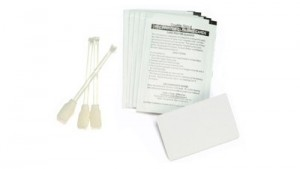 Zebra ZXP Series 7 Print Station and Laminator Cleaning Kit (Includes 12 feeder, print path and laminator cleaning cards, 12 cleaning swabs, and 3 adhesive cleaning cards for 60,000 prints)
