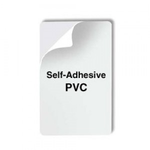Magicard CR80 14mil Self-Adhesive PVC Cards