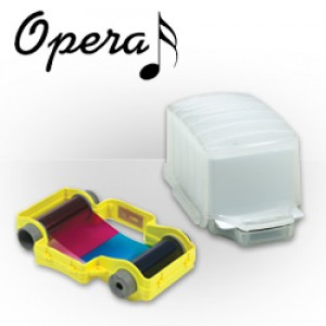 Magicard Opera Supply Bundle - 50 HiCo Cards+Pts