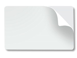 Adhesive Sticky Back Cards-Pack of 100