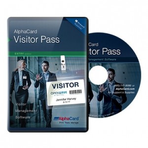 AlphaCard Visitor Pass Entry