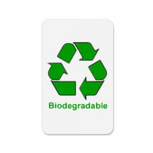 Standard CR80 30mil Earth-Friendly bioPVC Cards