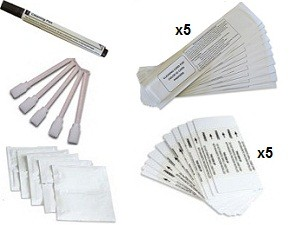Zebra ZXP3/P110i/P120i Cleaning Kit