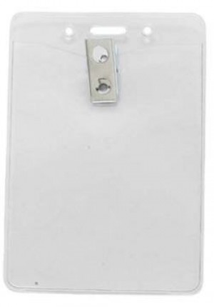 Standard Vertical Convention Badge Holder- 3 1/8""