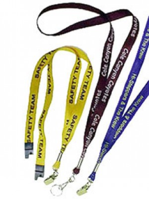 Standard Custom Lanyards - Silk Screened  - 100