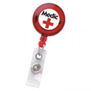 Standard Round Custom Printed Trluc Badge Reel