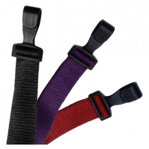 """100% Recycled P.E.T. 3/8"""" or 5/8"""" Flat Braided Lanyards – Pack of 100"""