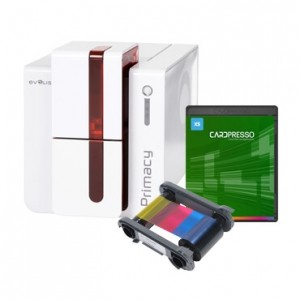 Evolis Primacy Printer, Ribbon & Software Bundle