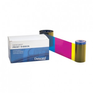 Datacard YMCKT Half-Panel Ribbon w/ cleaning kit – 650 Prints Compatible with SD260/SD360/SD460