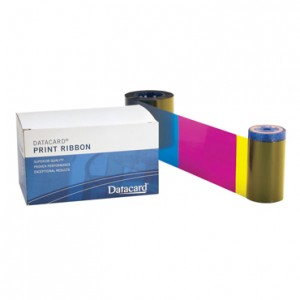 Datacard YMCKT Printer Ribbon-250 prints