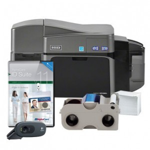 Fargo DTC1250e Dual-Sided Value ID Card System