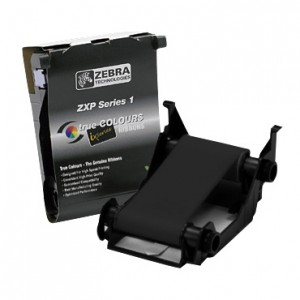 Zebra K Black Monochrome Ribbon for ZXP Series 1 - 1000 Prints