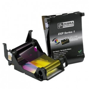 Zebra YMCKO Color Ribbon for ZXP Series 1 - 100 Prints
