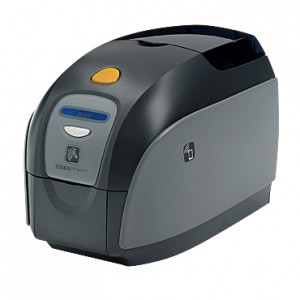 Zebra ZXP Series 1 ID Card Printer - Single-Sided