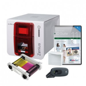 Evolis Zenius Expert ID Card Printer System