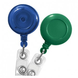 Standard Round Badge Reels – Pack of 25