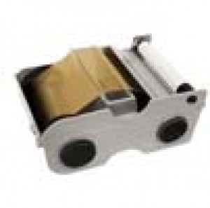 Fargo Gold Metallic Cartridge w/Cleaning Roller -1000 images