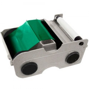 Fargo Green Ribbon Cartridge - 1000 Prints