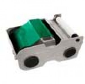 Fargo Green Cartridge w/Cleaning Roller -1000 images
