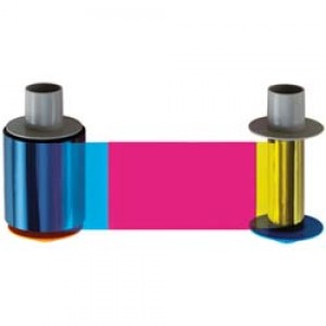 Fargo Fargo HDP5000 YMCFK Color Ink Ribbon