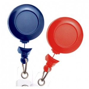 Standard No-Twist Badge Reels – Pack of 25
