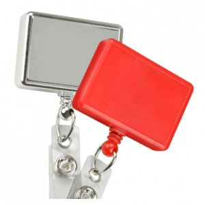 Rectangle Badge Reel – Pack of 25