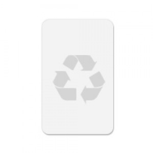 Zebra CR80 30mil Recycled PVC Cards 500 cards