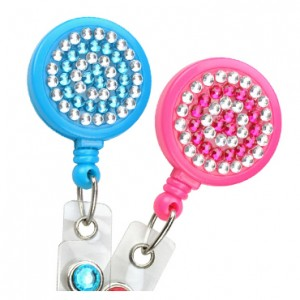 Rhinestone Fashion Badge Reel – Pack of 25