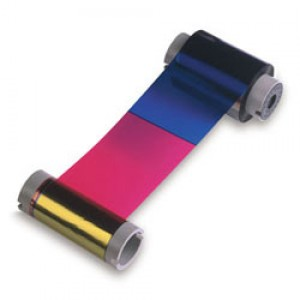 Fargo Color Ribbon 60 mil YMCKK - 400 Prints