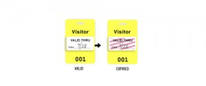 VOIDbadge Visitor ID Badge