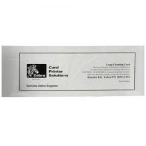 Zebra Long Cleaning Card for P330i - 50 count