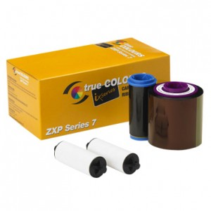 Zebra ix Series YMCUVK color ribbon - 750 prints